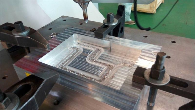 搅拌摩擦焊加工
